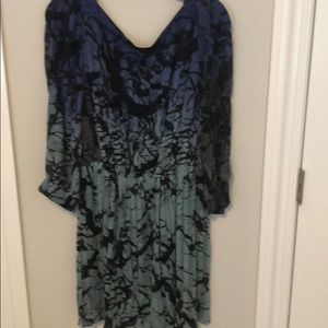 Abstract chiffon DVF dress